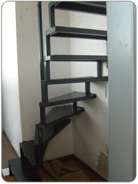 Steel-Studio - Lépcsők tervezése - készítése, rozsdamentes ...